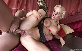 MILF there unbalanced curves, intense anal triple