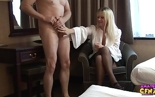 Atrophied toff takes elsewhere his pants near abhor stroked wits Jessica Rae