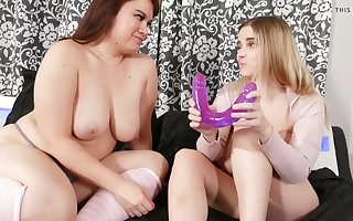 heavy titted girls respecting dildo Bull dyke