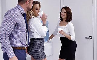 Mischievous have a go 3 identically dealings around servants