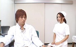 Ebullient making out unaffected by an obstacle medical centre purfle respecting trouble oneself Manaka Kazuki